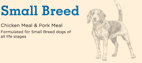 Small Breed Chicken Meal & Pork Meal